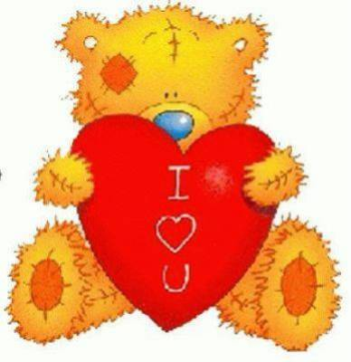 Nounours avec coeur centerblog - Coeur nounours ...